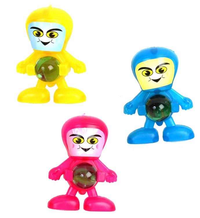 Figurine robot lance billes pas cher