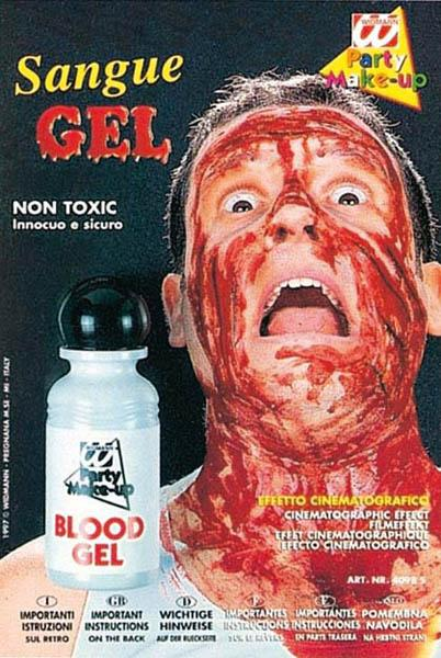 Flacon de sang gel épais pas cher