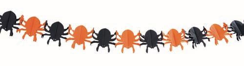 Guirlande araignées halloween pas cher