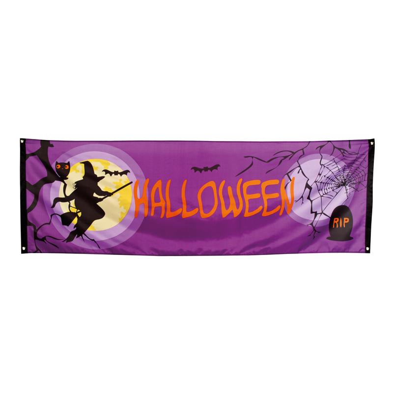 Guirlande bannière Halloween pas cher
