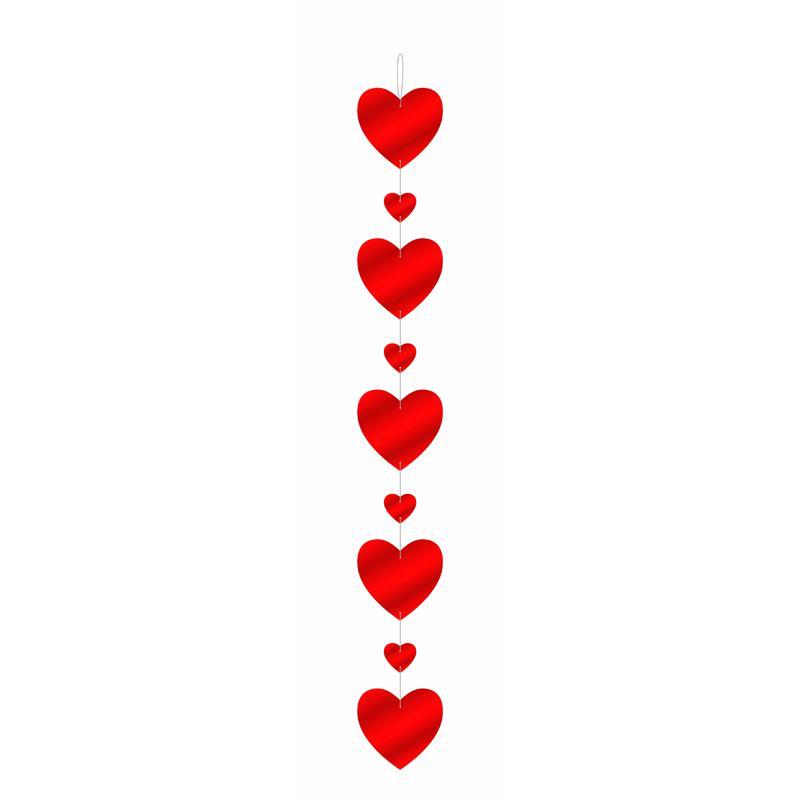 Guirlande coeur carton pas cher