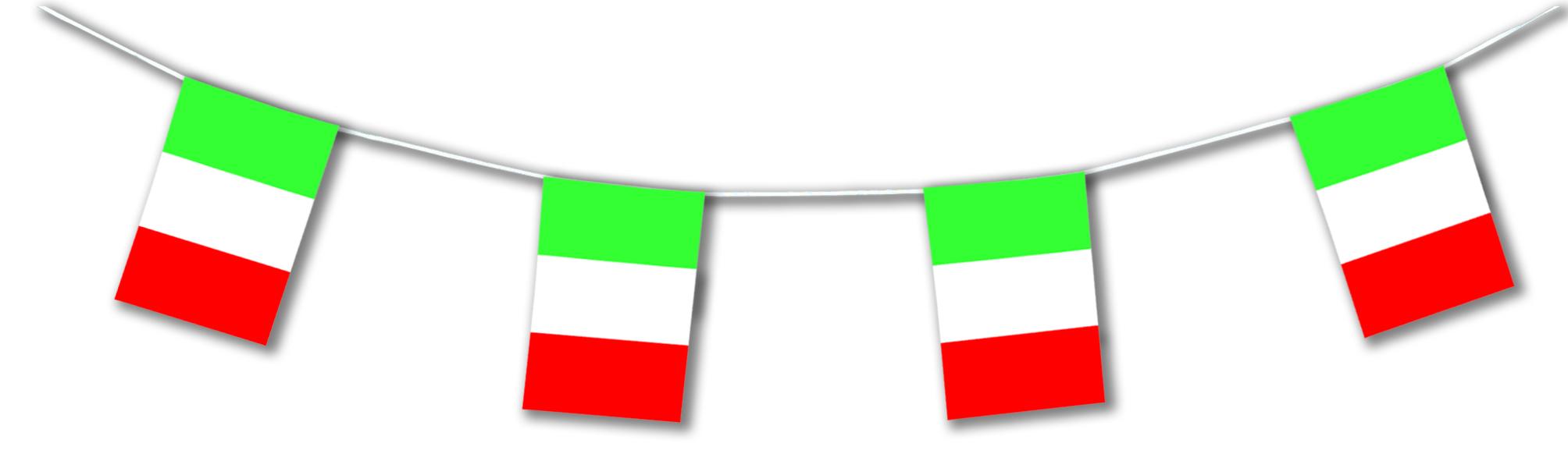guirlande fanions drapeaux italie