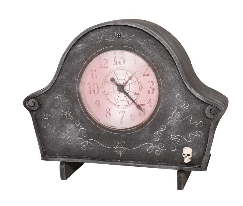 horloge sonore et lumineuse pour halloween