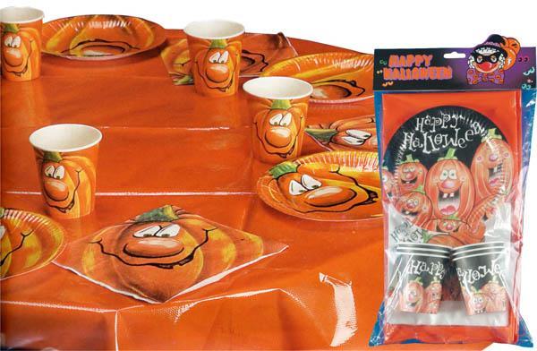 Kit de table citrouille halloween pas cher