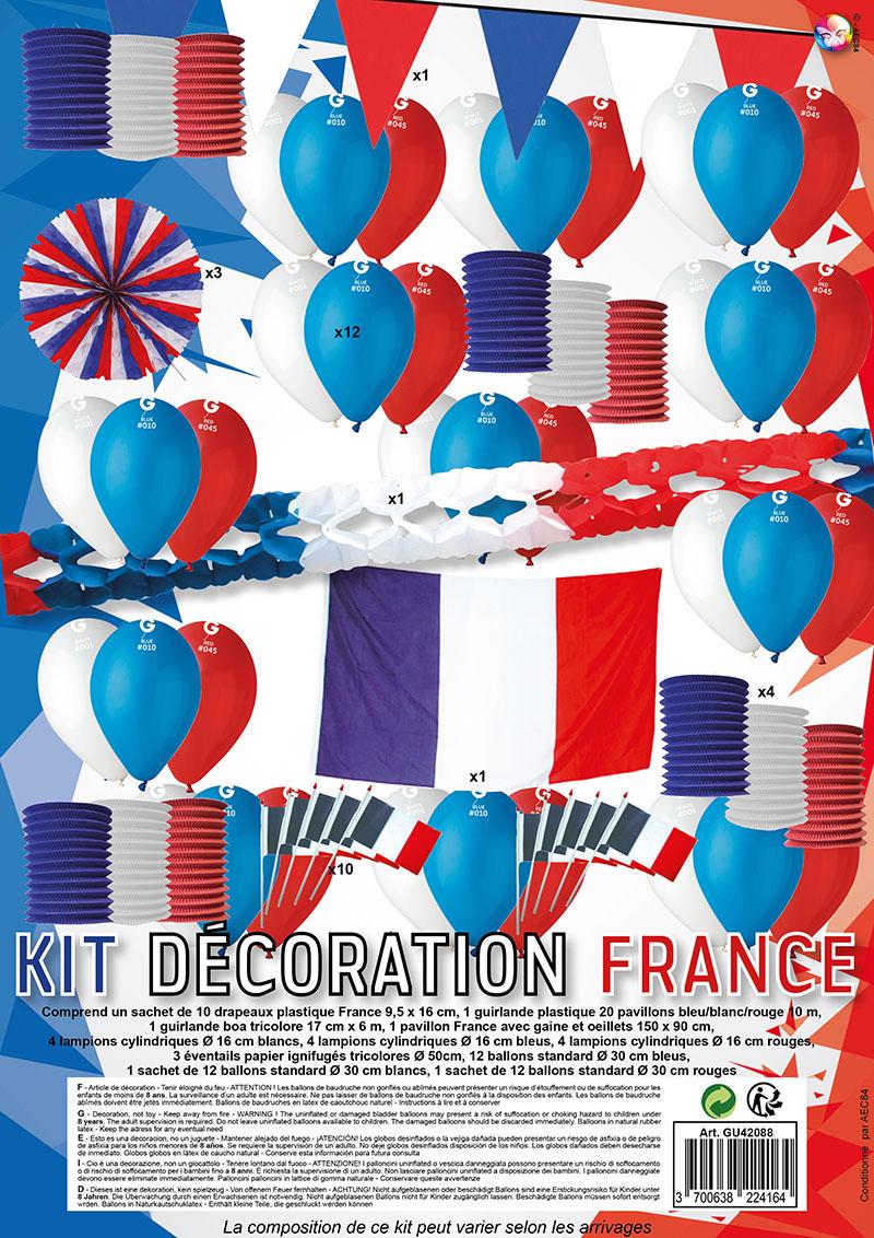 Kit Décoration France Grand Modèle pas cher