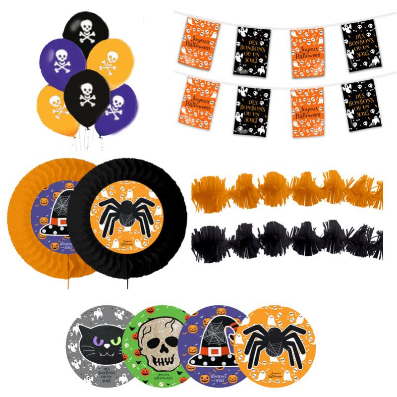 kit décoration halloween pas cher