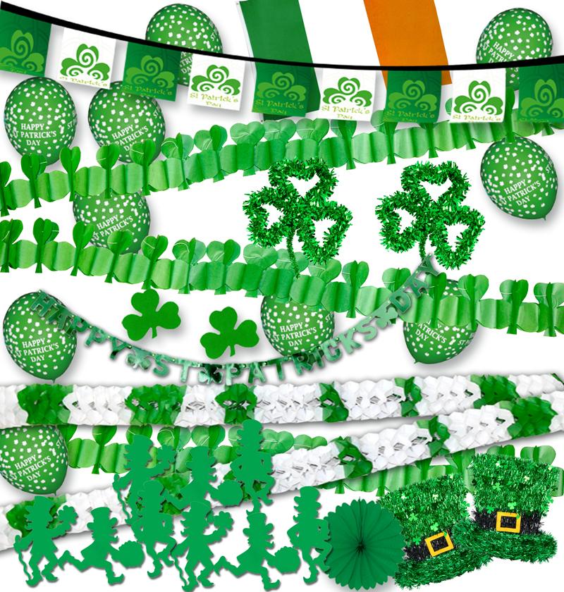 Kit de 40 décorations Saint Patrick variées