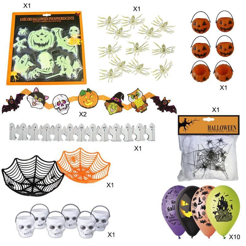 kit décorations halloween enfant pas cher