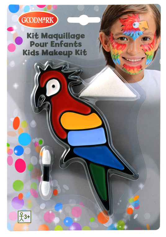 Kit maquillage enfant perroquet pas cher