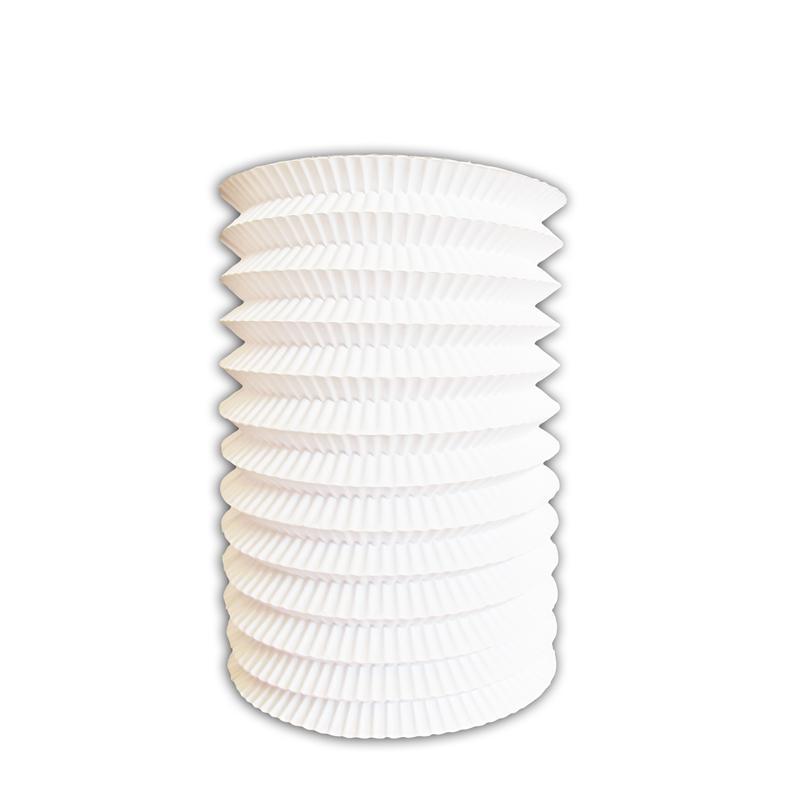 Lampion blanc 13 cm 13 cm pas cher