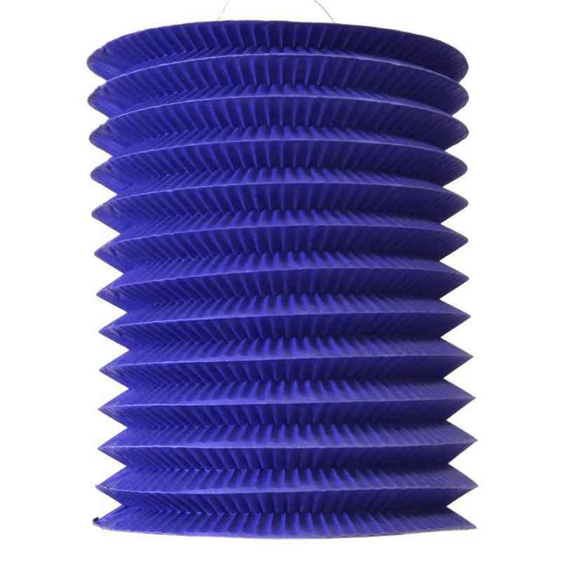 Lampion bleu 13 cm pas cher