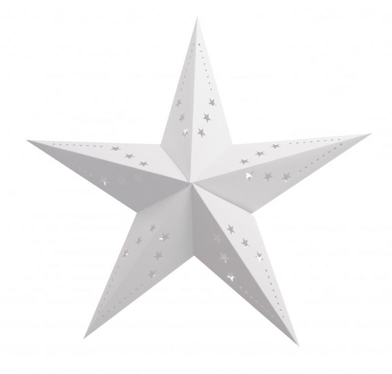 Lanterne étoile blanche pas cher