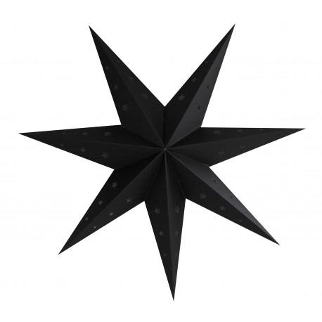 Lanterne étoile noire pas cher