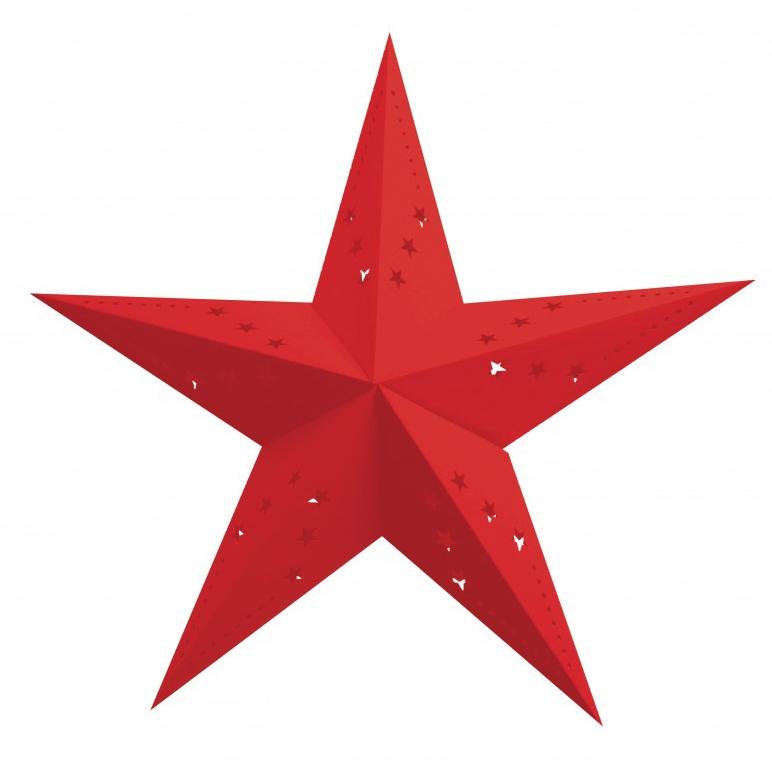 Lanterne Étoile Rouge pas cher