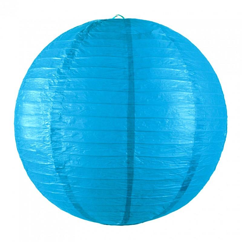 Lanterne japonaise bleu lagon pas cher