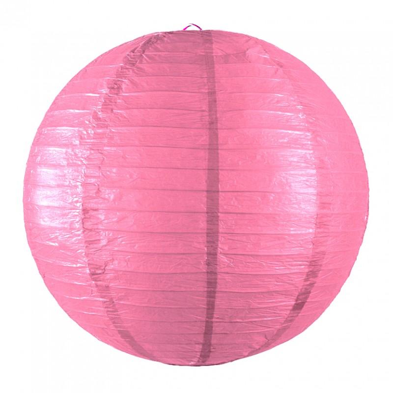 Lanterne japonaise bubble gum pas cher