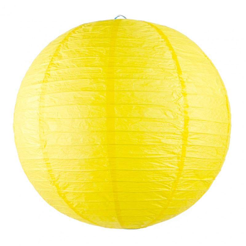 Lanterne japonaise jaune pas cher