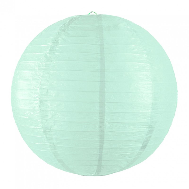 Lanterne japonaise light mint pas cher