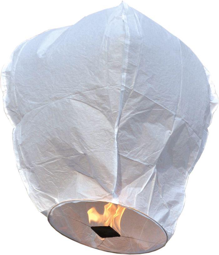 Lanterne volante blanche pas cher