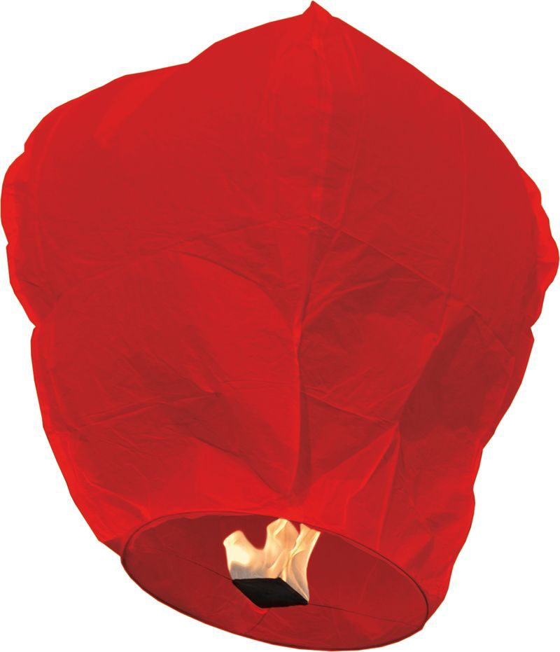 Lanterne volante rouge pas cher