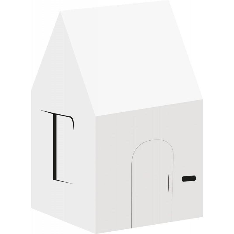 Maison pour enfant en carton recyclé
