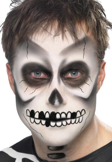 Maquillage squelette homme pas cher