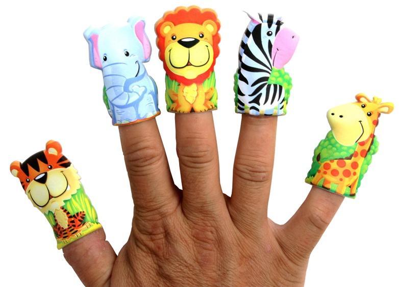 Marionnette doigt animal