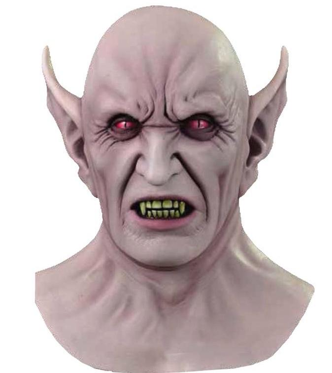 Masque  Vampire Démon en Latex pas cher