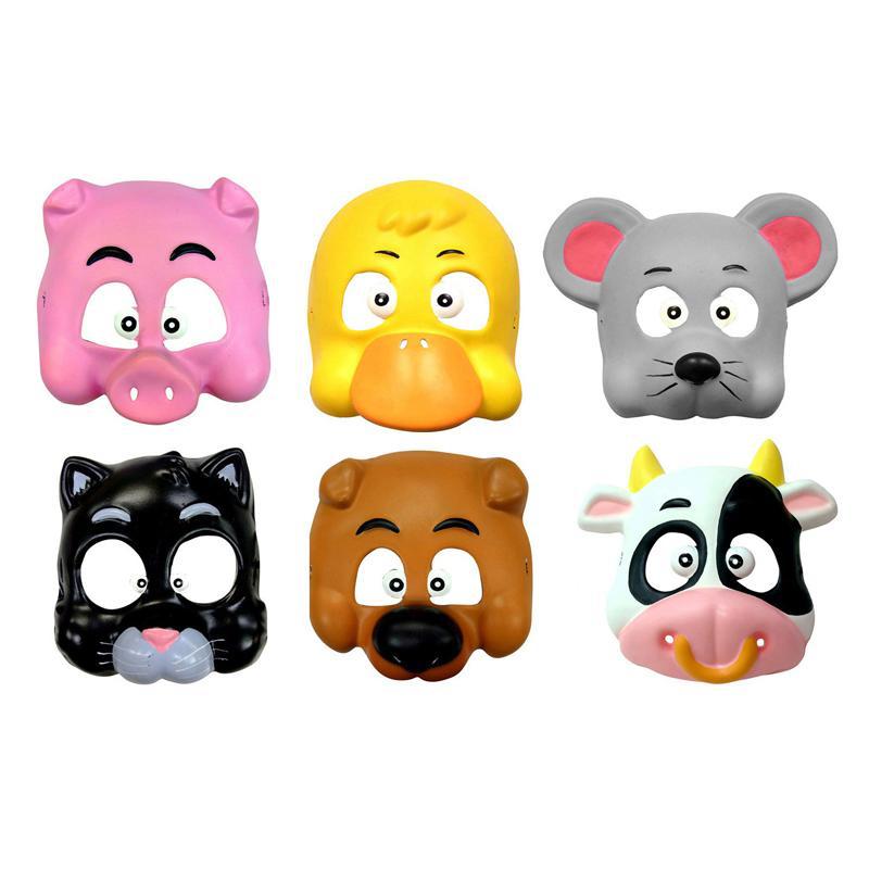 Masque animaux de la ferme pas cher pour enfant