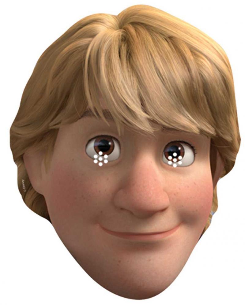Masque carton Kristoff La Reine des Neiges pas cher