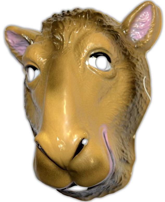 Masque de chameau pour adulte et enfant