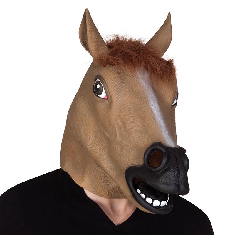 masque de cheval en latex pas cher