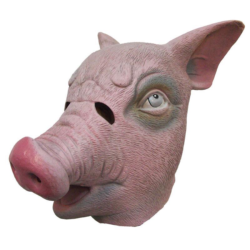 masque de cochon en latex pas cher