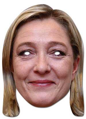 Masque de Marine Le Pen pas cher