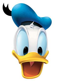 Masque Donald Duck pas cher