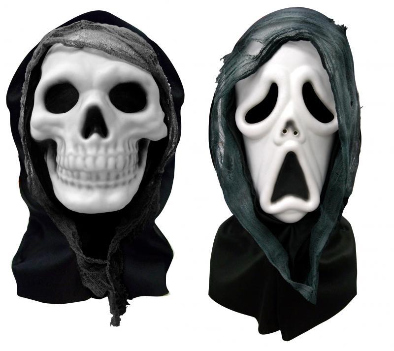 Masque squelette horreur halloween pas cher