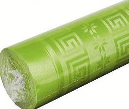 Nappe papier vert pas pomme pas cher