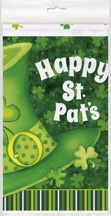 Nappe plastique Saint Patrick