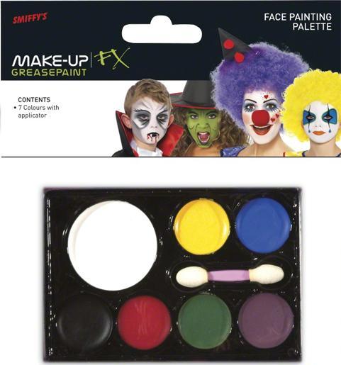 Palette Maquillage 7 Couleurs pas cher