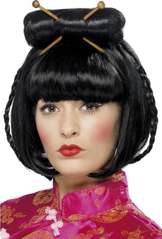 Perruque Asiatique femme pas cher