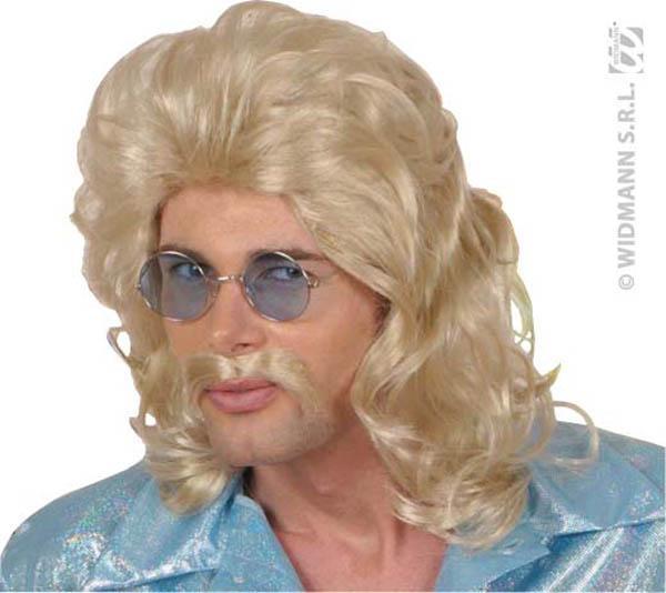 Perruque Blonde pour homme année 70 pas cher