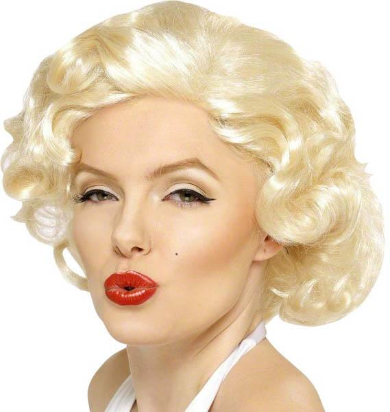 Perruque Marylin Luxe pas cher