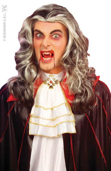 Perruque Vampire Méchée Adulte pas cher