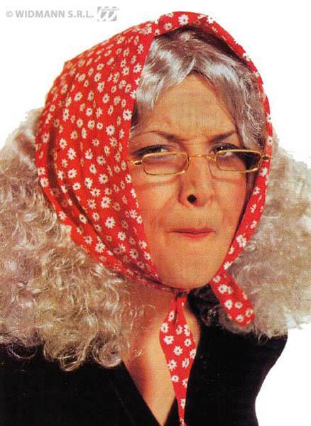 Perruque vieille femme pas cher