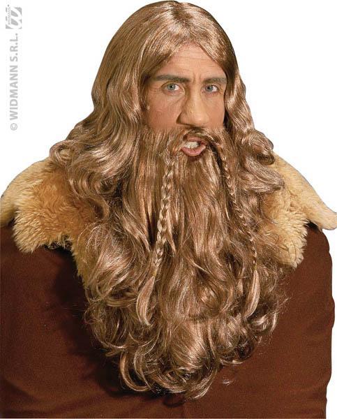 Perruque Viking pas cher