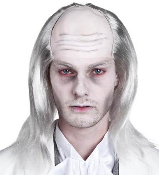 Perruque zombie blanche pas cher