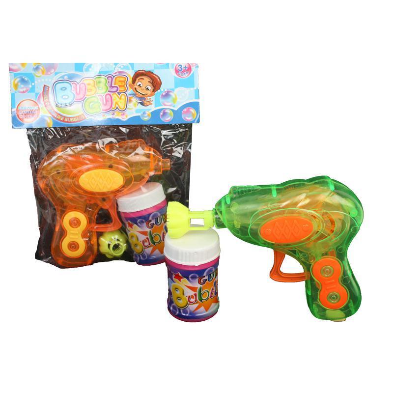Pistolet à bulles de savon lumineux pas cher