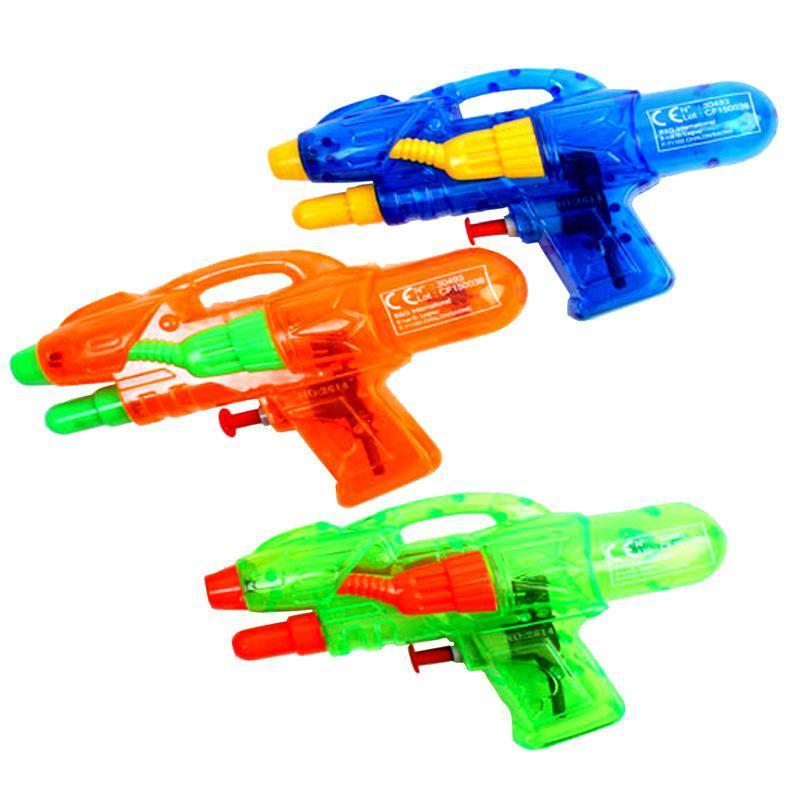 Pistolet à eau double jets pas cher 16 cm