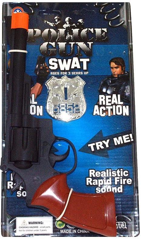 Pistolet de police bruiteur pas cher