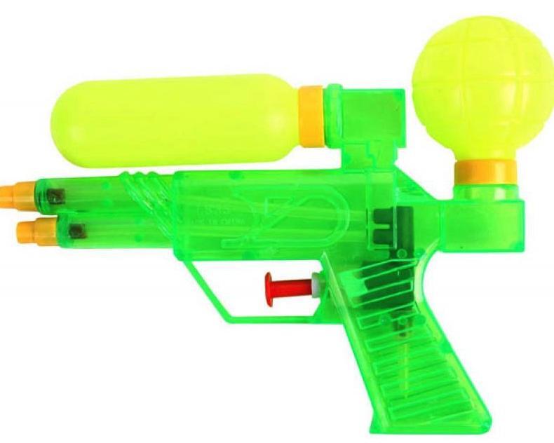 Pistolet eau double jet pas cher pour kermesse